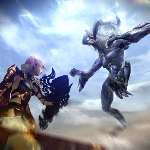 Lightning returns in Lightning Returns: Final Fantasy XIII, shows off the Dead Dunes