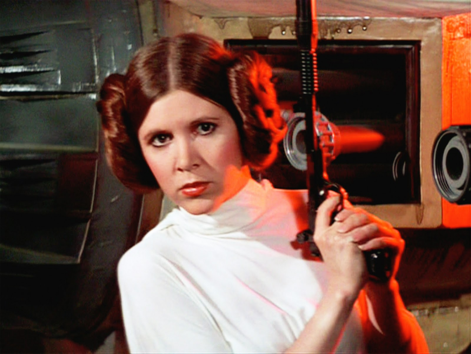 carrie fisher confirms her return as princess leia in star wars episode vii nerd reactor. Black Bedroom Furniture Sets. Home Design Ideas