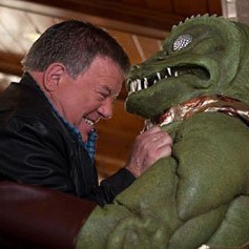 Captain Kirk fights the Gorn… again!