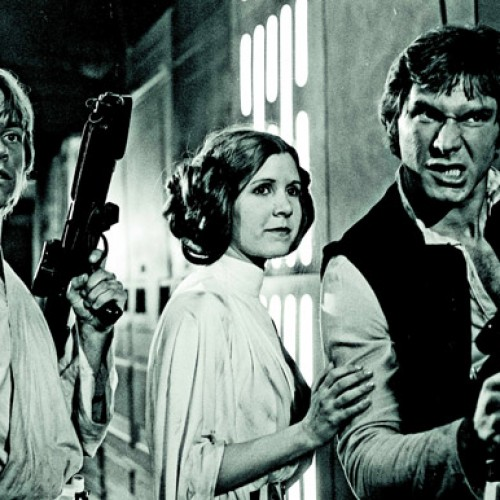 George Lucas says Mark Hamill, Carrie Fisher, and Harrison Ford have signed on for Star Wars: Episode VII