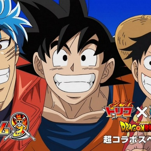 Goku vs. Luffy vs. Toriko! One Piece 590 Crossover
