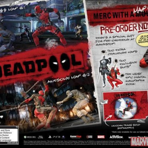 Deadpool coming to PS3, Xbox 360 and PC June 25th