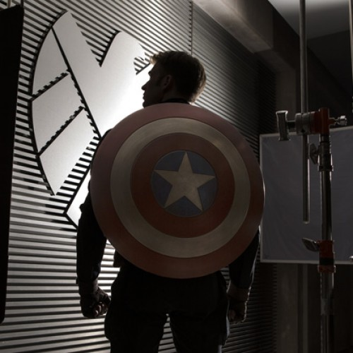 Captain America: The Winter Soldier photos with Black Widow