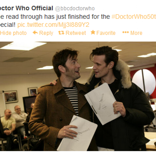 Doctor Who's 50th anniversary special: David Tennant and Billie Piper are IN!