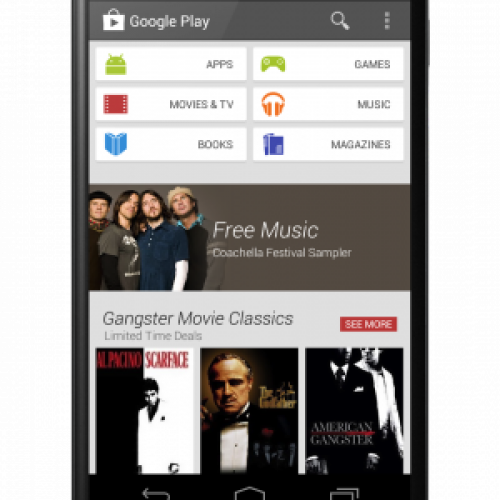Google Play gets a makeover for Android