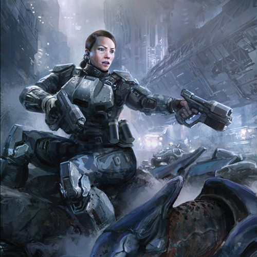 Halo 4's Sarah Palmer to get a comic book origin story from Dark Horse