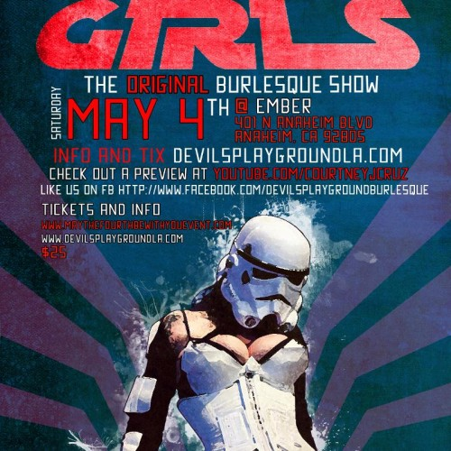 Star Wars Burlesque headed to Anaheim for May the Fourth weekend