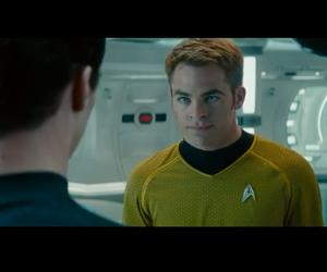 Star Trek Into Darkness Pine