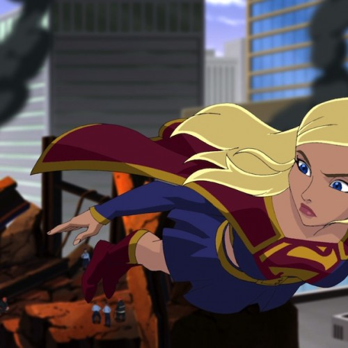 Supergirl flies after Lois Lane in new Superman: Unbound clip