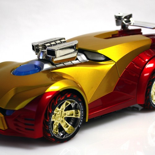 Create your own Iron Man vehicle with the Ridemakerz's Iron Man Ride