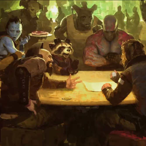 Captain America: The Winter Soldier and Guardians of the Galaxy concept art unveiled