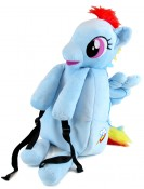 my little pony backpack brony rainbow dash