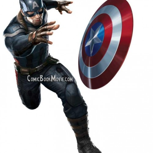 Check out Captain America's new suit for The Winter Soldier