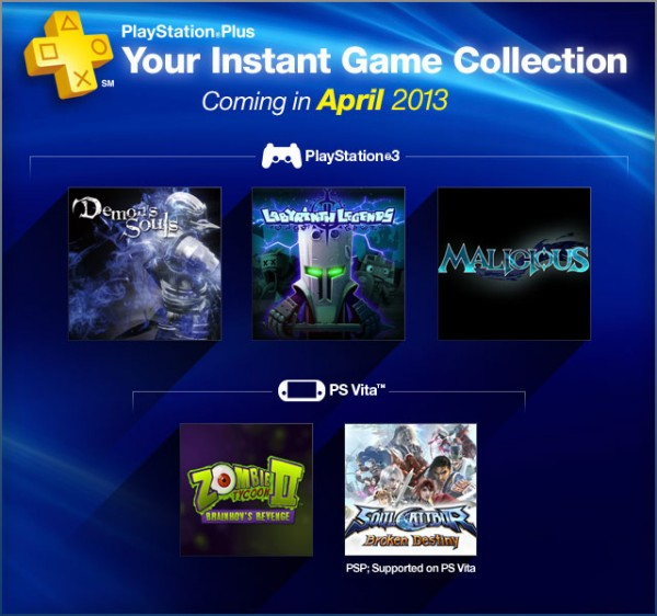 ps plus april 2013
