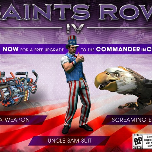 Saints Row IV is coming August 20, 2013