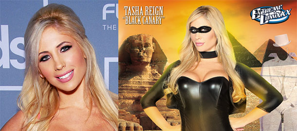 Interview with Tasha Reign on The XXX Adventures of Hawkman ...