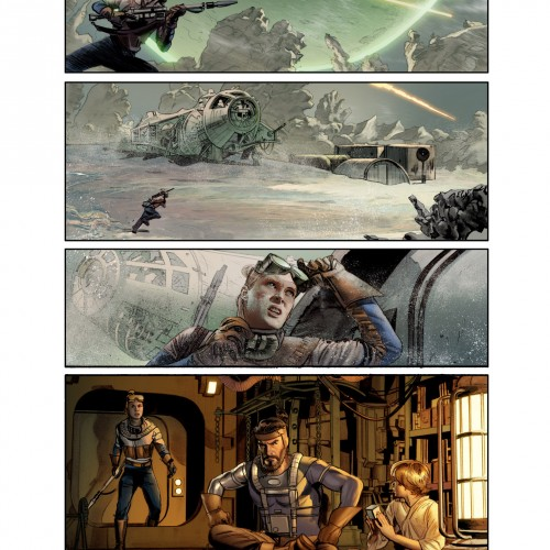 George Lucas' first draft of Star Wars gets turned into a comic book