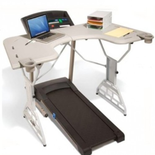Lose weight while playing PC games with the TrekDesk