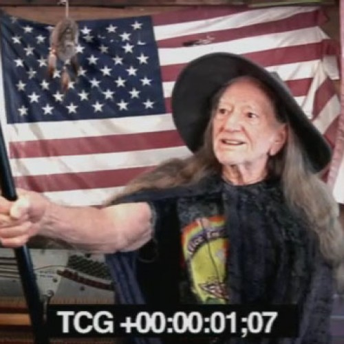 Willie Nelson auditions for the role of Gandalf in Hobbit 2