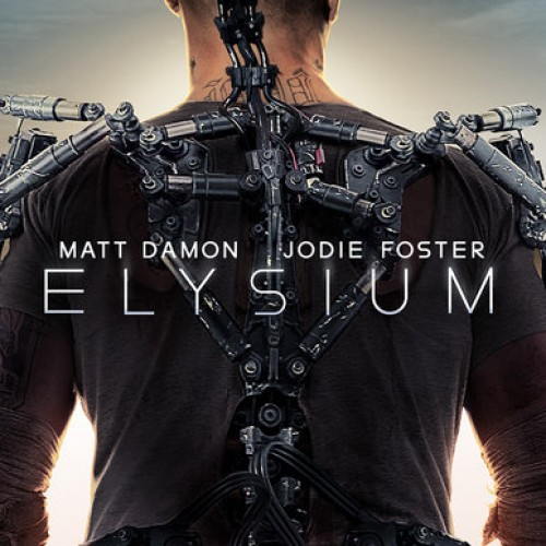 Matt Damon and Sharlto Copley fight it out in stunning new Elysium trailer