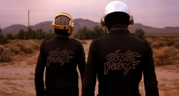 Daft Punk in field