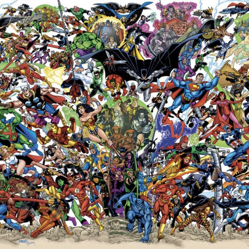 Top 20 Comic Book Heroes