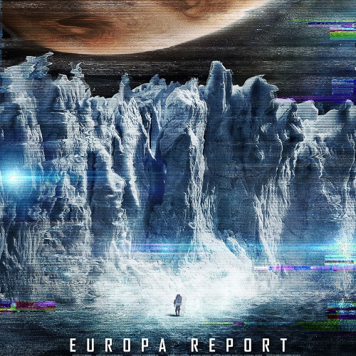 New poster for Sharlto Copley's Europa Report featuring Jupiter's moon
