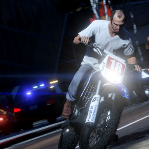 GTA V gets 12 action-packed screenshots including parachuting and drive-by shooting