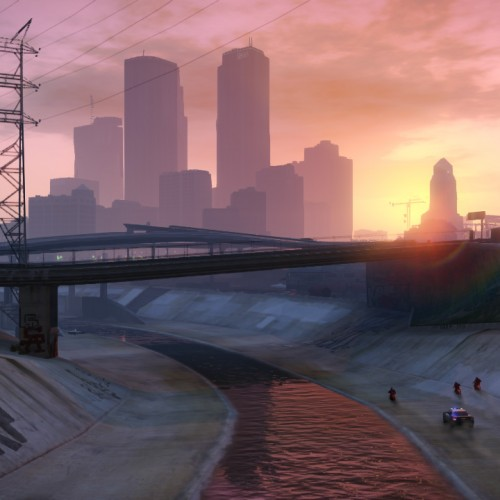 Grand Theft Auto V time lapse video is breathtaking