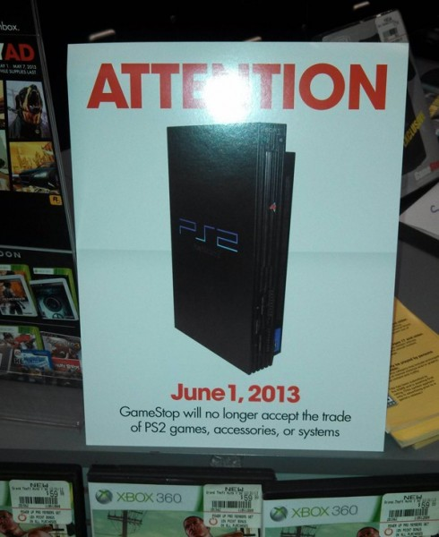 Sell Games For Ps2 : Gamesstop end playstation trade ins june nerd reactor