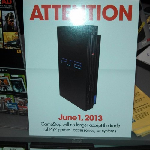 GameStop to end PlayStation 2 trade-ins starting June 1