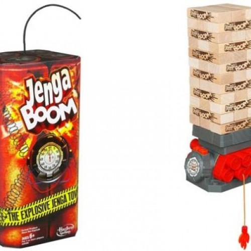 Jenga Boom… the most intense game you will ever play