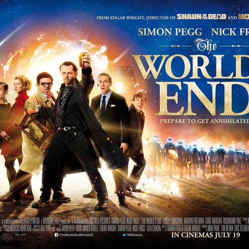 New The World's End posters