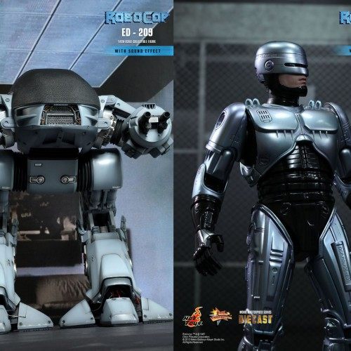 RoboCop and ED-209 get the Hot Toys treatment