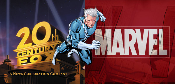 fox marvel disney quicksilver