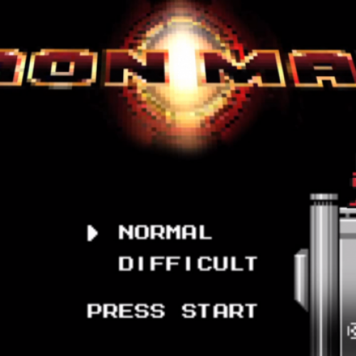 Iron Man gets inspired by Mega Man in this 8-bit parody
