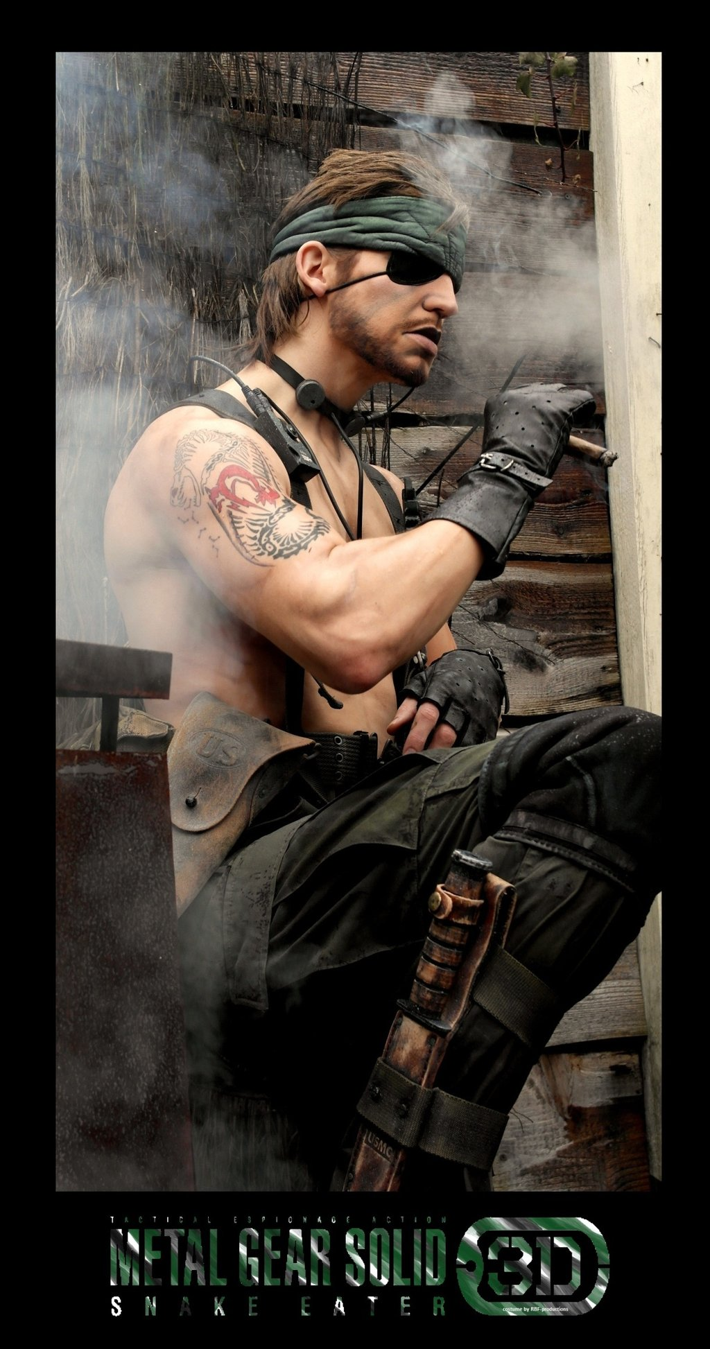 naked snake scientist by - photo #40