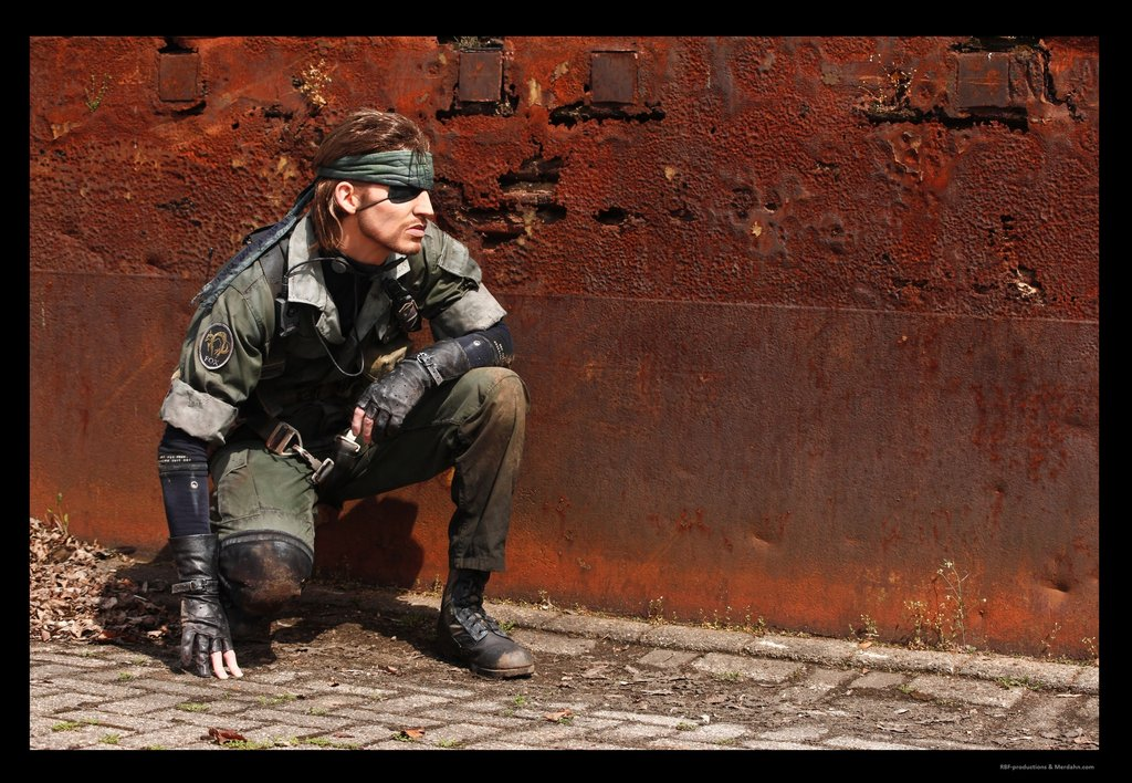 Metal gear solid cosplay