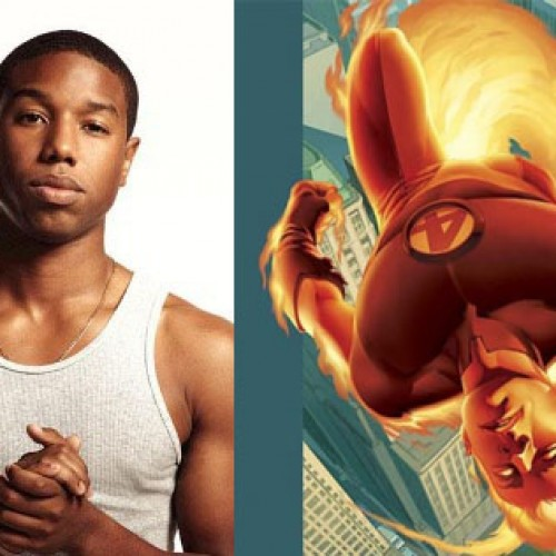 Michael B. Jordan wanted change of color for Human Torch in Fantastic Four reboot