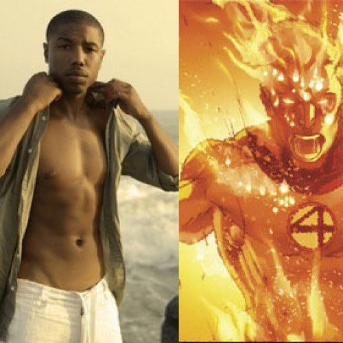 Michael B. Jordan is okay with having a black Human Torch