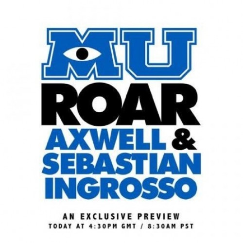 Hear a teaser for Monsters University's track from 2/3 of Swedish House Mafia