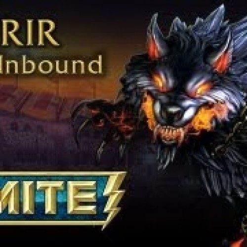 Smite patch 0.1.1490, Fenrir joins the fray (God + Skin Giveaway)
