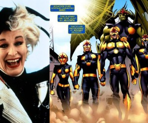 nova corps glenn close guardians of the galaxy