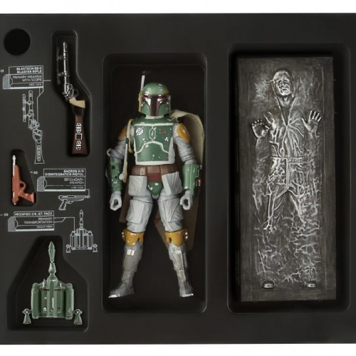 Boba Fett SDCC 2013 exclusive figure comes with carbonite Han Solo