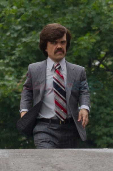 EXCLUSIVE: Peter Dinklage in costume on set of new 'X-MEN Days of Future Past'