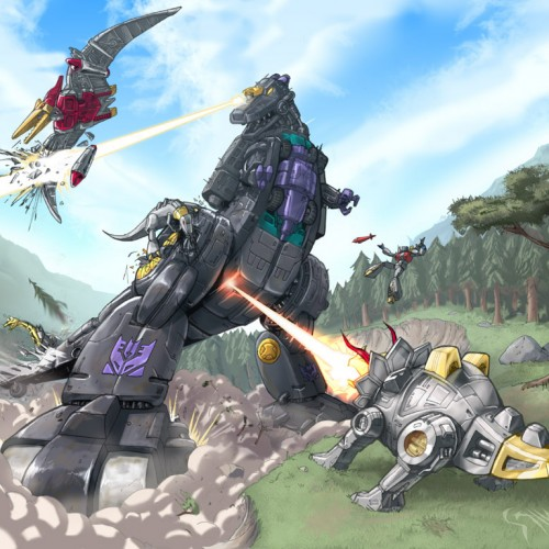 The Dinobots will be in Transformers 4, plus other robots revealed?