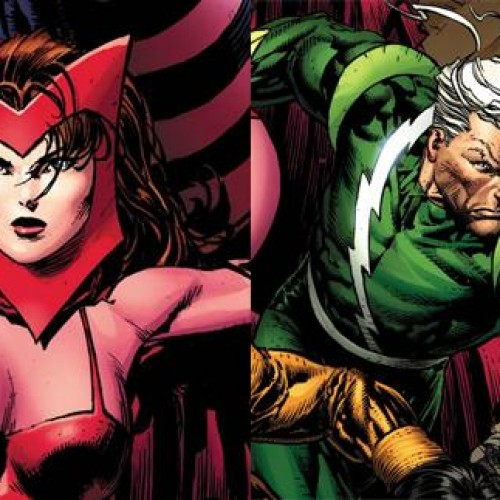 It's official! Aaron Taylor-Johnson and Elizabeth Olsen are Quicksilver and Scarlet Witch in Avengers: Age of Ultron