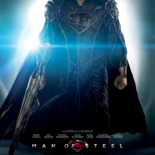 My name is Maximus Decimus Jor-El, and I have my own Man of Steel poster