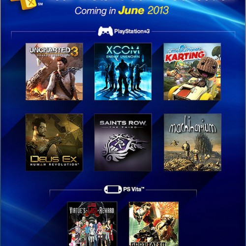Free PS+ Games this month: Uncharted 3: Drake's Deception, XCOM: Enemy Unknown and LittleBigPlanet Karting