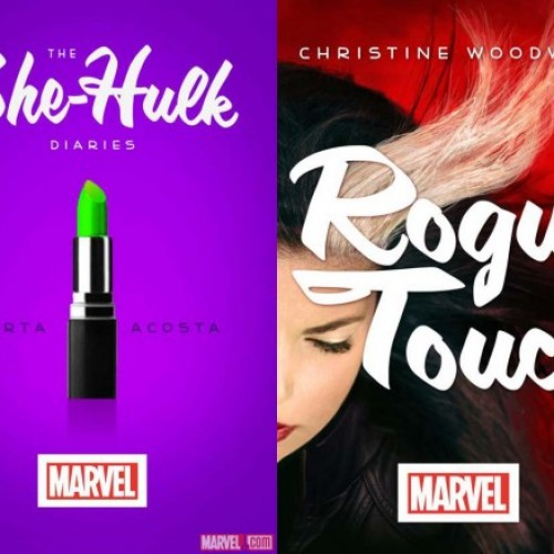The Marvel Novels: The She-Hulk Diaries and Rogue Touch Reviews
